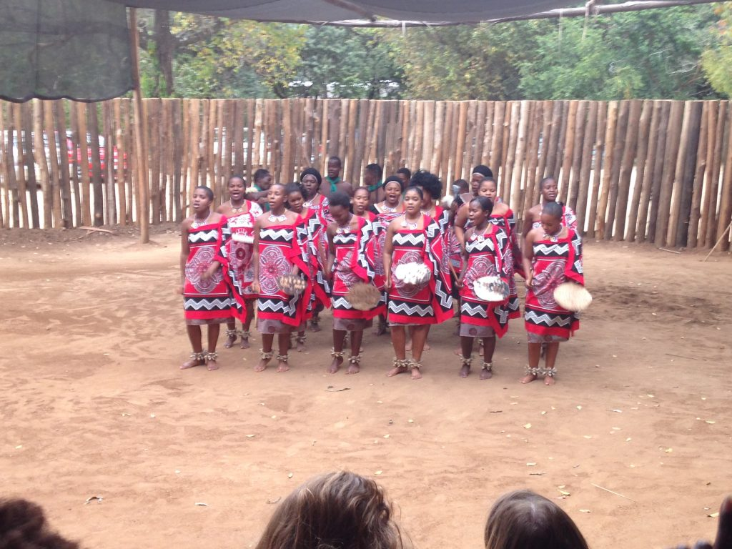 Swazi Traditional Culture Dance