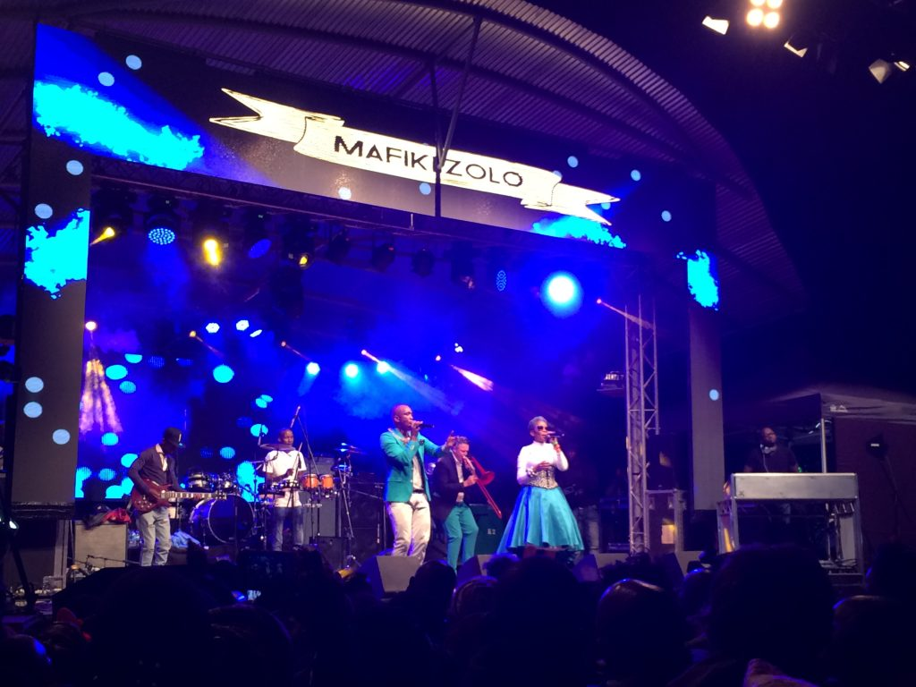 South African group Mafikizolo