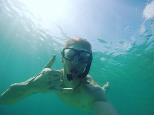 First snorkeling expedition was a success!