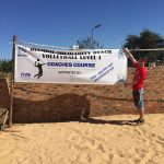 Working on Beach Volleyball and Exploring Botswana